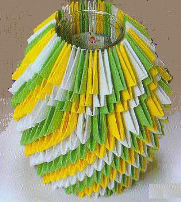 Оригами ваза схема сборки