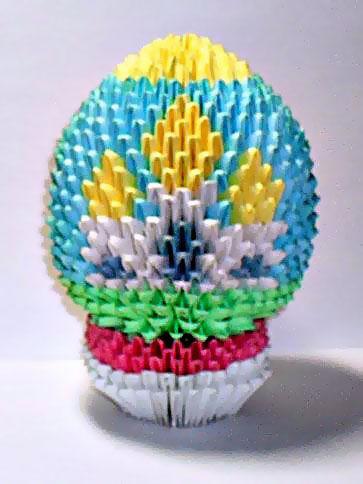 Модульное оригами дракон - Схемы модульного оригами дракона А сколько модулей то.