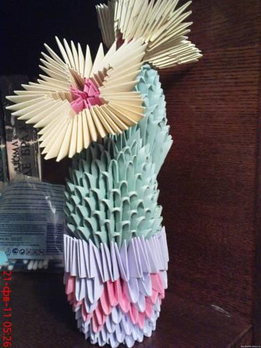 модульное оригами вазы фото